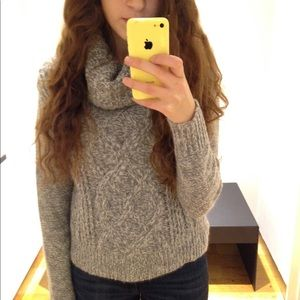 Slouch neck cozy sweater